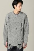 ���ƥ�����å� LABRAT Damage Knit
