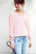 ���ԥå������ѥ� ��ͽ���pure cashmere V�ץ륪���С���