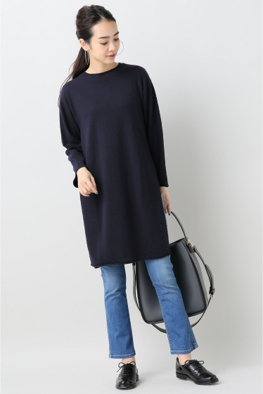 ���ԥå������ѥ� ��ACHRO�� Side Slitz Long Sweater �ܺٲ���1