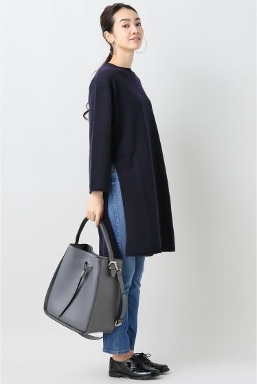 ���ԥå������ѥ� ��ACHRO�� Side Slitz Long Sweater �ܺٲ���2