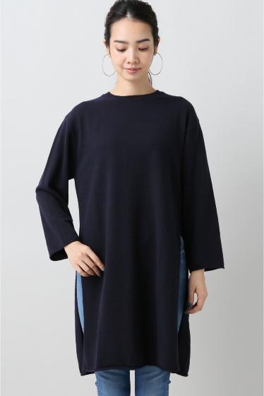 ���ԥå������ѥ� ��ACHRO�� Side Slitz Long Sweater �ܺٲ���3