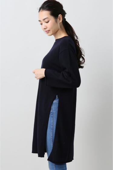 ���ԥå������ѥ� ��ACHRO�� Side Slitz Long Sweater �ܺٲ���4