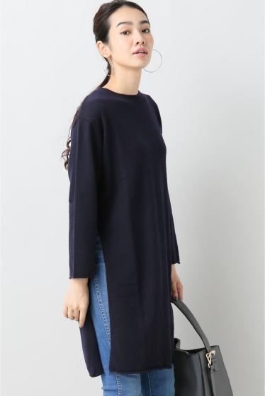 ���ԥå������ѥ� ��ACHRO�� Side Slitz Long Sweater �ͥ��ӡ�