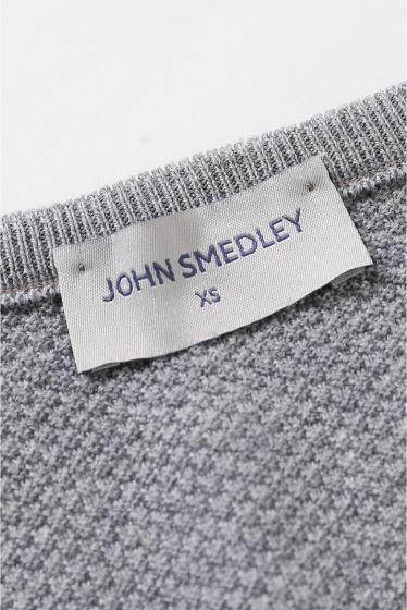 �ե졼���� John Smedley 24G��åե�V�ͥå� �ץ륪���С��� �ܺٲ���10