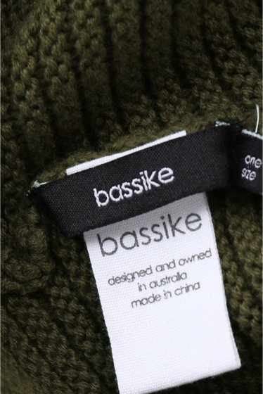 �����ԡ����ȥ��ǥ��� bassike knit snood�� �ܺٲ���6