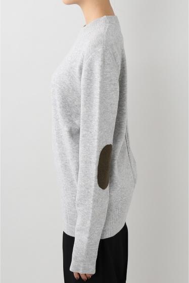�����ԡ����ȥ��ǥ��� bassike patch knit �ץ륪���С��� �ܺٲ���2
