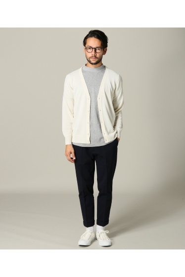 ���㡼�ʥ륹��������� SUPER140sWASHABLE MERINO CARDIGAN KNIT �ܺٲ���2
