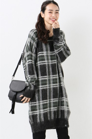 ���?�� ������ 5 PRE VIEW HESTER CHECK KNIT �����