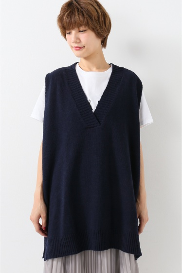 ���?�� ������ BONSUI V-NECK KNIT VEST �ܺٲ���3