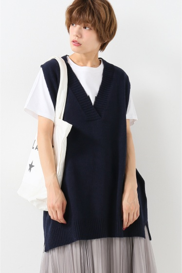 ���?�� ������ BONSUI V-NECK KNIT VEST �ͥ��ӡ�