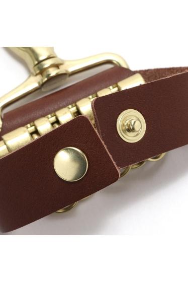 ���ƥ�����å� meanswhile Leather Key Ring �ܺٲ���3