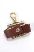 ���ƥ�����å� meanswhile Leather Key Ring