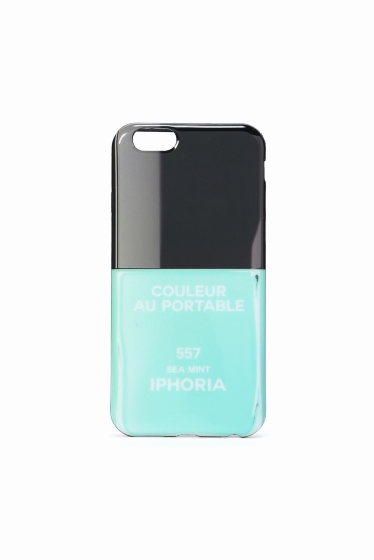 �ɥ����������� ���饹 I PHORIA i phone 6/6s ������ SEA MINT�� �֥롼