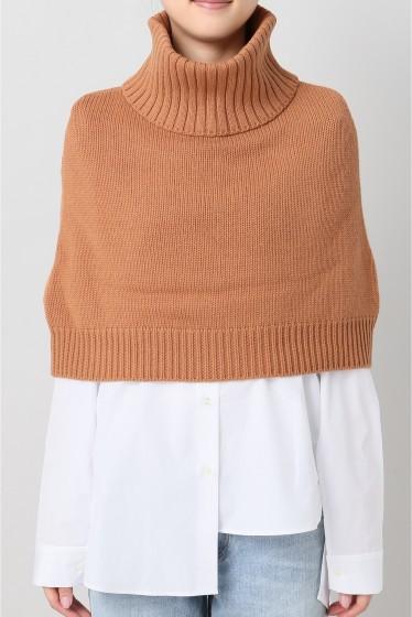 �����ԡ����ȥ��ǥ��� �������륫���ߥ� Knit Poncho ������ A