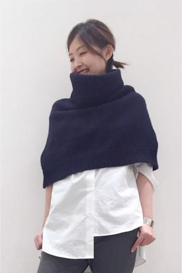 �����ԡ����ȥ��ǥ��� �������륫���ߥ� Knit Poncho �ͥ��ӡ�