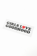 �������� GOODHOOD GIRLS LOVE GH STICKER