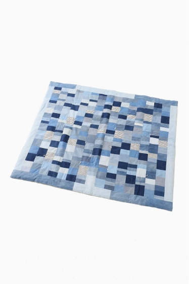 ���㡼�ʥ륹��������� DUO NYC FULL SIZE DENIM QUILT �֥롼 A
