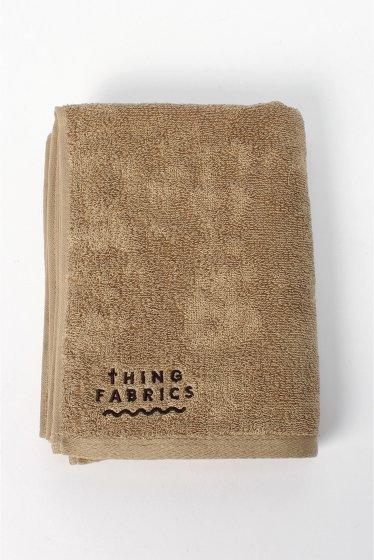 ���㡼�ʥ륹��������� THING FABRICS  / ���ե��֥�å���:TIP TOP 365 face towel �١�����