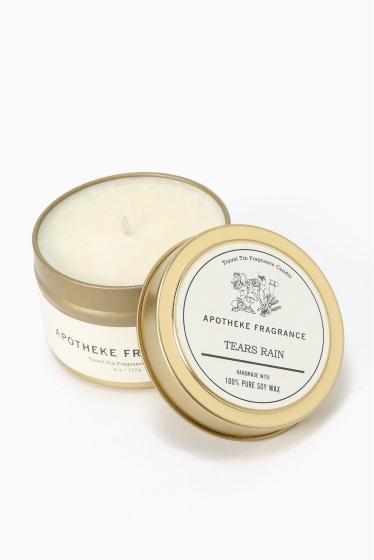 �����֥�������ʥ��ƥå� APOTHEKE FRAGRANCE Tin Candle �������� D