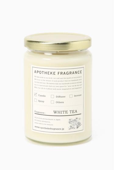 �����֥�������ʥ��ƥå� APOTHEKE FRAGRANCE Grass Candle �������� E