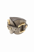 ���㡼�ʥ륹��������� �쥵������ ��THE MIDDLE�� WATER SNAKE Skin Bangle:�Х󥰥�