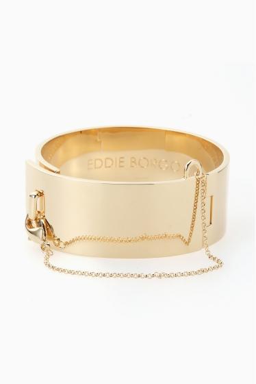 �ɥ����������� ���饹 EDDIE BORGO yellow gold ��������BIG �֥쥹��åȢ� �ܺٲ���1