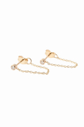 �ɥ����������� ���饹 ZOE CHICCO 14K DIAMOND*CHAIN�ԥ�����