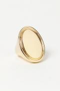 �ɥ����������� ���饹 ARME DE LAMOUR Oval Ring��