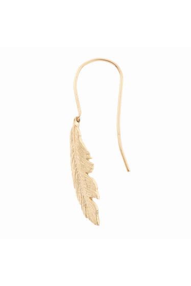 ���ѥ�ȥ�� �ɥ����������� ���饹 ��MANON VON GERGAN Small Feather PieRce �ܺٲ���1