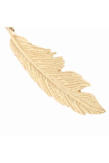 ���ѥ�ȥ�� �ɥ����������� ���饹 ��MANON VON GERGAN Small Feather PieRce �ܺٲ���4
