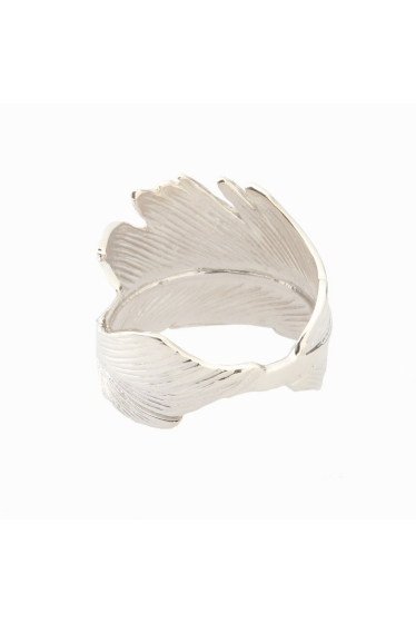 ���ѥ�ȥ�� �ɥ����������� ���饹 ��MANON VON GERGAN Big Feather Ring �ܺٲ���1