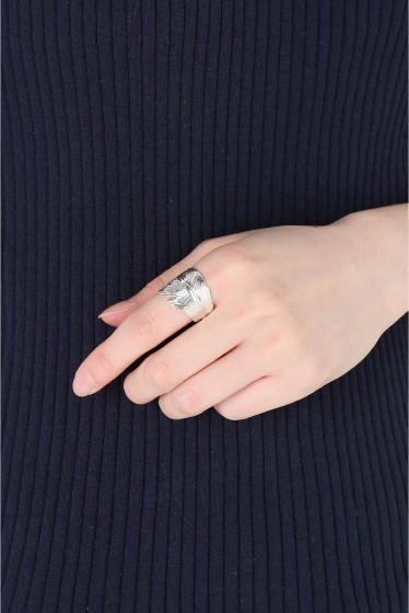 ���ѥ�ȥ�� �ɥ����������� ���饹 ��MANON VON GERGAN Big Feather Ring �ܺٲ���3