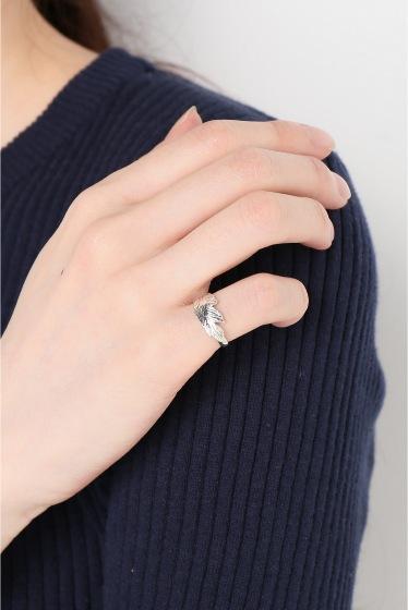 ���ѥ�ȥ�� �ɥ����������� ���饹 ��MANON VON GERGAN mini Feather Ring �ܺٲ���4