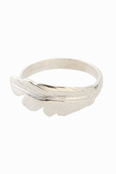 ���ѥ�ȥ�� �ɥ����������� ���饹 ��MANON VON GERGAN mini Feather Ring ����С�