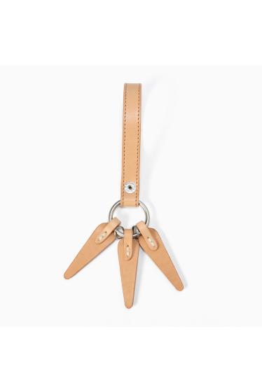 ���㡼�ʥ륹��������� HOBO / �ۡ��ܡ�:Shade Leather Leaves Key Ring �ܺٲ���1