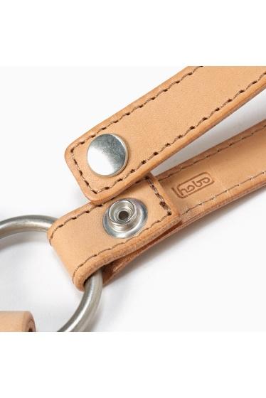 ���㡼�ʥ륹��������� HOBO / �ۡ��ܡ�:Shade Leather Leaves Key Ring �ܺٲ���3