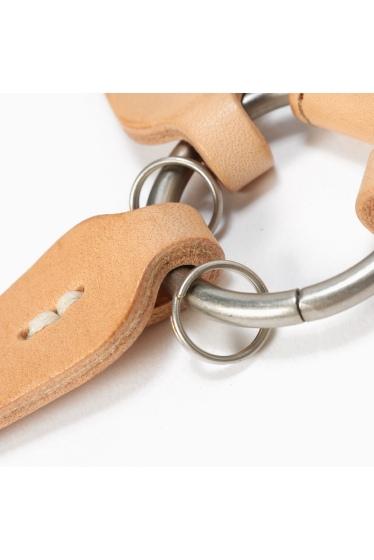 ���㡼�ʥ륹��������� HOBO / �ۡ��ܡ�:Shade Leather Leaves Key Ring �ܺٲ���4