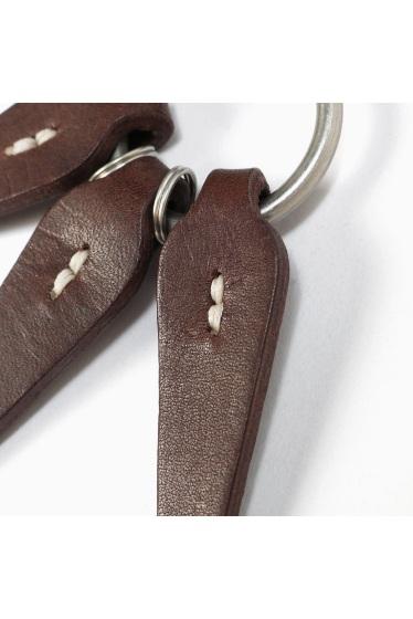 ���㡼�ʥ륹��������� HOBO / �ۡ��ܡ�:Shade Leather Leaves Key Ring �ܺٲ���6