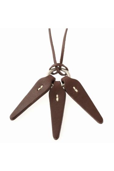���㡼�ʥ륹��������� HOBO / �ۡ��ܡ� : Shade Leather Leaves Necklace �ܺٲ���1