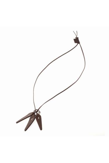 ���㡼�ʥ륹��������� HOBO / �ۡ��ܡ� : Shade Leather Leaves Necklace �ܺٲ���2