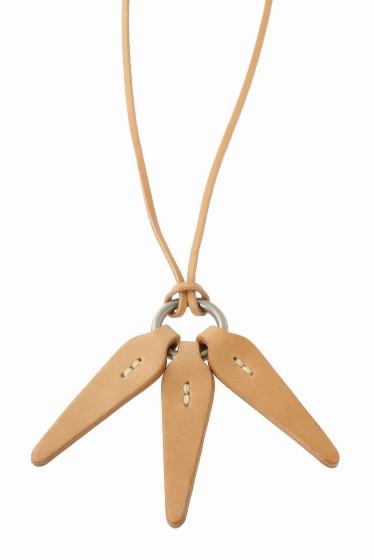 ���㡼�ʥ륹��������� HOBO / �ۡ��ܡ� : Shade Leather Leaves Necklace �ʥ�����