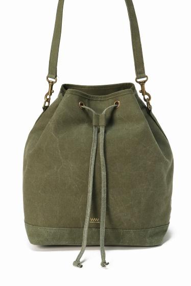 ���ƥ�����å� WACCOWACCO Drawstring Bag ������