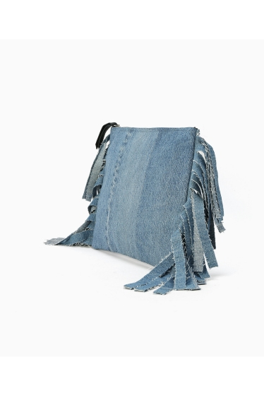 �����ܥ꡼ ������ ��wiffle��  REMAKE DENIM CLUTCH �ܺٲ���1