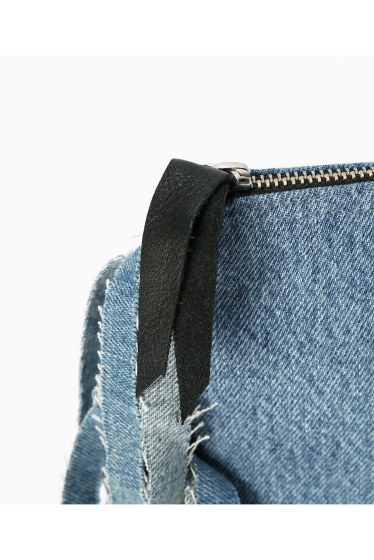 �����ܥ꡼ ������ ��wiffle��  REMAKE DENIM CLUTCH �ܺٲ���10