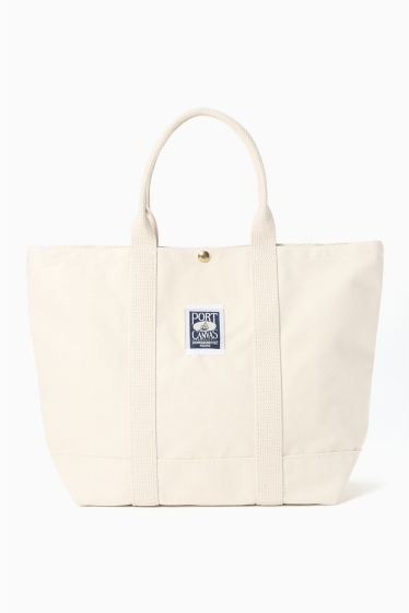 �ե졼���� PORT CANVAS TOTE �ۥ磻�� A