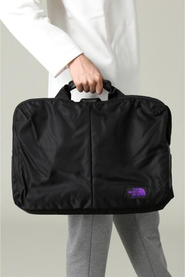 ���㡼�ʥ륹��������� ���塼�� THE NORTH FACE Purple Label: Limonta Nylon 3wayBag �֥�å�