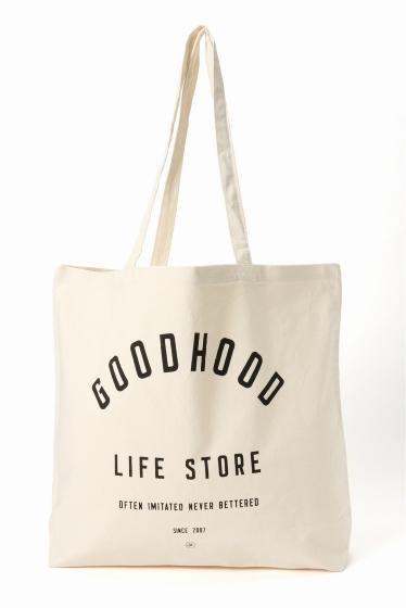 �������� GOODHOOD LIFE STORE TOTE �ۥ磻�� A