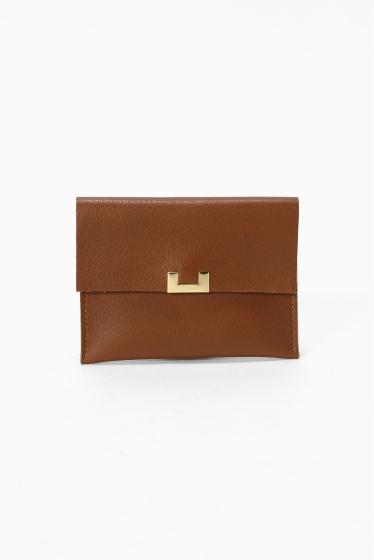 �ץ顼���� FAUVETTE PARIS SMALL CARD CASE �֥饦��