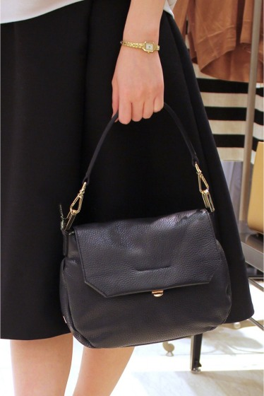 �ե����� �ѥ� GIANNI CHIARINI ��󥷥�����BAG�� �֥�å�