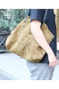 ���㡼�ʥ륹��������� �ե��˥��㡼 LARGE LEATHER TOTE